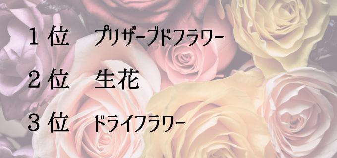 女性に喜ばれるお花ランキング