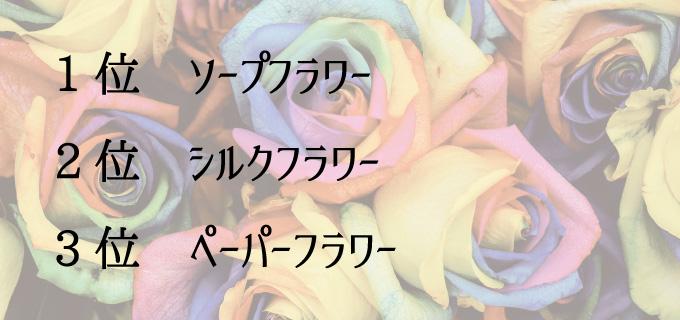 長持ちする造花ランキング
