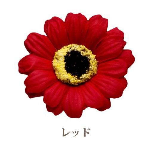 ソープフラワー花材【フレグランスソープ】ガーベラ16輪入り/全6色※レッド
