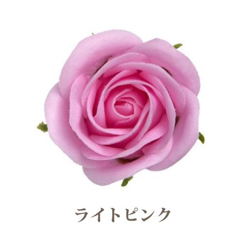 ソープフラワー花材【フレグランスソープ プティローズ】バラ(小輪)25輪入り/全8色※ライトピンク