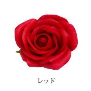 ソープフラワー花材【フレグランスソープ プティローズ】バラ(小輪)25輪入り/全8色※レッド